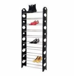 Circle Shape 10-TIER Stackable Shoe Rack