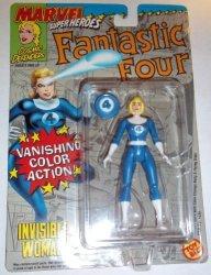 Toy Biz Marvel Super Heroes Fantastic 4 Invisible Woman Vanishing Color Change Action Figure