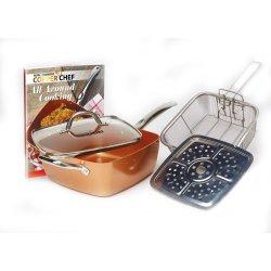 Copper Chef - Square Pan Set - Set Of 5