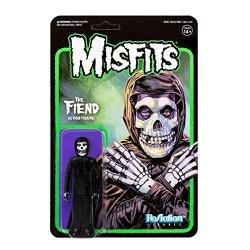 SUPER7 Reaction Figures Misfits - The Fiend - Midnight Black Version
