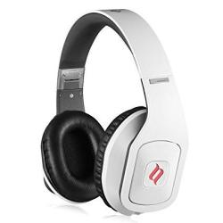 Noontec Hammo S Over Ear Headphones Award-winning Sound Inline MIC And Carrying Case White