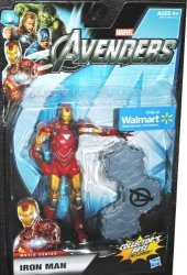 Hasbro Marvel Legends Avengers Movie Exclusive 6 Inch Action Figure Iron Man Includes Collectors Base