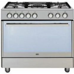 Defy DGS162 5-Burner Stainless Steel Gas Electric Oven