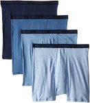 Hanes Men's Underwear Hanes Men's 4-PACK Ultimate Freshiq Big Dyed Boxer With Comfortflex Waistband Brief Assorted Colors Xx-lar