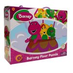 Barney - -shaped Floor Puzzle