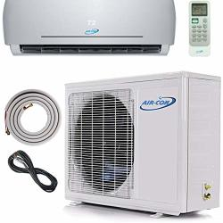 BTU 12000 MINI Split Ductless Air Conditioner - 18 Seer - Includes Free 12' Lineset And Wiring - Arrives 100% Ready To Install