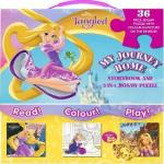 Disney Princess Tangled My Journey Home : Storybook And 2-IN-1 Jigsaw Puzzle