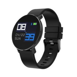 Sony Bakeey T5 Ultra Thin Design Smart Watch Dynamic Heart Rate Monitor Silicone Strap