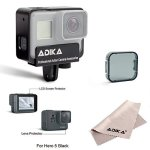 ADIKA Cnc Aluminum Alloy Frame For Gopro Hero 5 Black Metal Protective Case Housing Cover For Gopro Hero 5 Action Camera Accesso