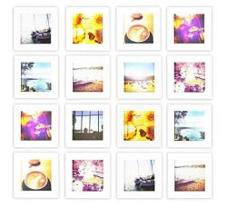 Golden State Art Smartphone Instagram Frames Collection Set Of 4 6x6