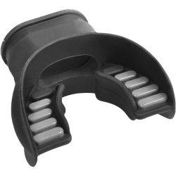 Atomic Aquatics Atomic Dual-silicone Comfort Fit Mouthpiece - Black gray