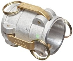 "PT Coupling Cxc Series 20CX20C Aluminum Reducer Cam And Groove Hose Fitting Cxc Adapter Brass Hb Cam Arms 2"" X 2"" Coupler"
