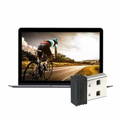 MINI Ant+ Dongle Ant+ USB Stick Adapter 5 Meters Transmission Range For Garmin Zwift Wahoo Bkool For Cycling