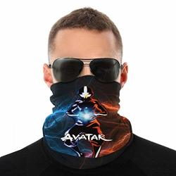 Giphojo Neck Gaiter Scarf Bandanas Balaclava Avatar The Last Airbender Headbands For Fishing Running Cycling Motorcycle Outdoor Soft Lightweight And Breathable