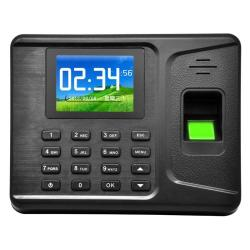 A-F261 2.8 Inch Color Tft Screen Fingerprint & Rfid Time Attendance With Tcp ip USB Communication Office Time Attendance Clock