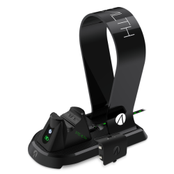 Stealth Xbox One Docking Station With Headset Stand - Black