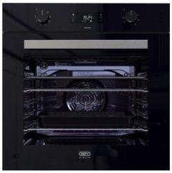 Defy 60CM Black Thermofan Eye Level Oven - DBO489
