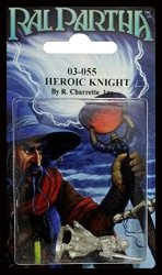 Iron Wind Metals Ral Partha 03-055 Heroic Knight By Battletech