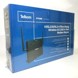 Telkom D Link Fibre Ready Wireless Modem Router Factory Sealed Reviews Online Pricecheck