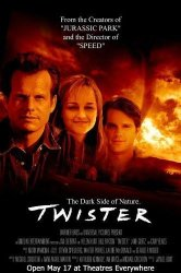 Twister Poster Movie 27 X 40 Inches - 69CM X 102CM 1996 Style C