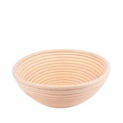"Haneye Bread Proofing Basket 8.5"" Banneton With Liner Round Bread Dough Rising Basket Brotform Proofing Basket For Bakers By"