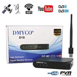 Fta Satellite Tv Receiver HD Dvb S2 Sat Finder Tv Decoder Supports Powervu  Dre Biss Key And USB Wifi Dongle For Network Sharing | R1240 00 |