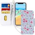 FYY Iphone 11 Case Iphone 11 Wallet Case Handmade Flip Wallet Phone Case Stcover
