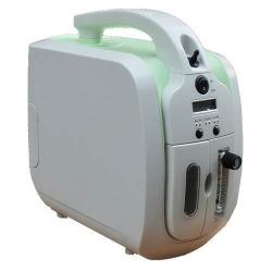Oxygen Concentrator 1-5L MIN Adjustable Portable Oxygen Machine For Home And Travel Use Ac 110V Humidifiers - Green