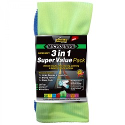 Shield Microfibre 3in1 Super Value Pack