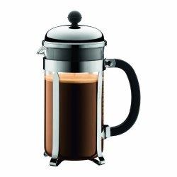 Bodum Chambord 8 Cup French Press Coffee Maker 34 Oz. Chrome