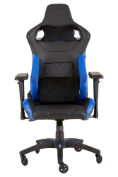 : T1 Race Gaming Chair Black And Blue PC