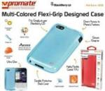 Promate AKTON-Q5 Blackberry Q5 Multi-colored Flexi-grip Designed Case Colour: Pink