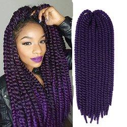 Ifolder Havana Mambo Twist Braided Crochet Hair Jumbo Braid Twist