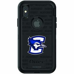 Fan Brander Nba Phone Case Compatible With Apple Iphone Xr With Otterbox Defender With Repeating Design Creighton University Bluejays