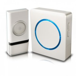 ||Home Series Swann Wireless Door Chime With Compact Backlit Design