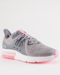 Nike Air Max Sequent 3 GS Sneaker Light CarbonMetallic Silver