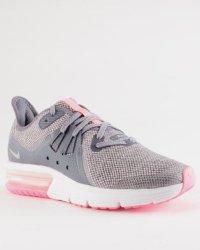 495fd81e35b Nike Air Max Sequent 3 Gs Sneaker Light Carbon metallic Silver ...