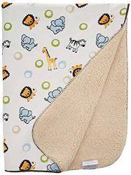 Bedtime Originals. Bedtime Originals Jungle Buddies Velour Sherpa Blanket Limited Edition