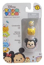 Jakks Disney Tsum Tsum Cinderella Winnie The Pooh & Mickey
